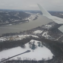 ohio river from the air